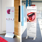 Floor Sign Panel Holder Unico