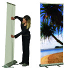 Retractable and Non-retractable Banner Stands