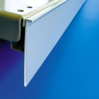 "Shelf Label Holder ""DBR 55 with C-snap front cover"" - For 2-1/8"