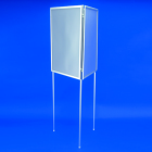 3-Sided Poster Frame Stands