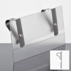 Price Card Holder for vertical panels