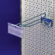 "Shelf Label Holder for Pegboard Hooks ""DRA 26"" - For 1"
